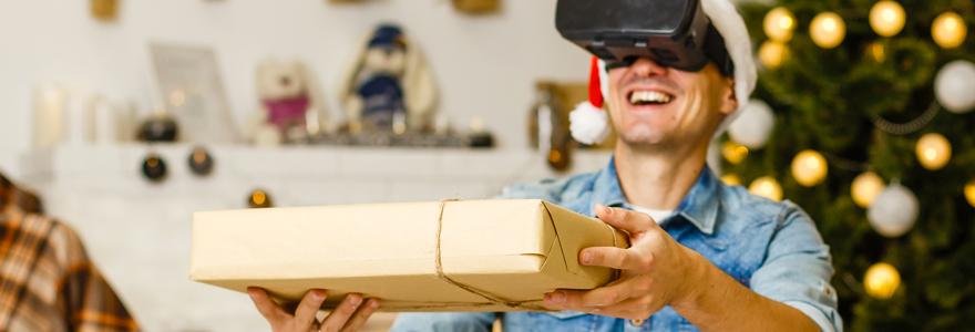 Cadeaux de Noel réalité virtuelle