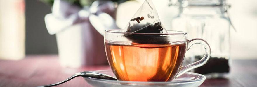 sachets à thé infusion
