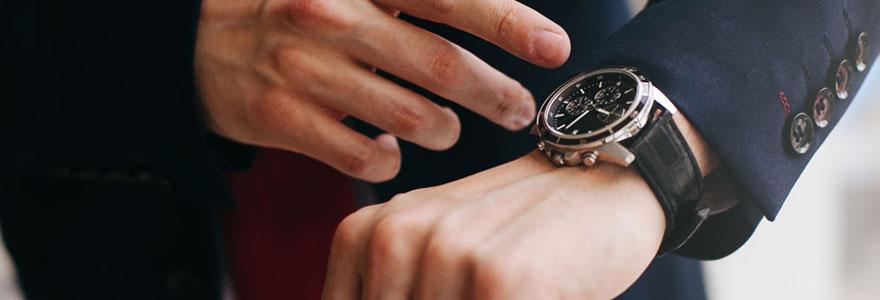 montre de marque homme